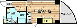 カステロミューラー[6階]の間取り
