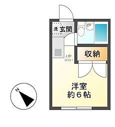 S・Kコーポ[2階]の間取り