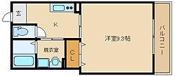 仮)古市4丁目新築[2階]の間取り