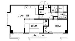 メルヘンハウス[205号室]の間取り