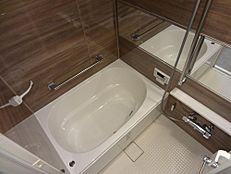 浴室 毎日のバスタイムが楽しみになりそうな広々浴室です。