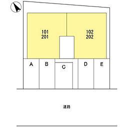 OKAMOTO5[101号室]の外観