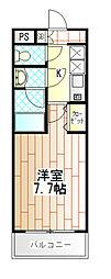 VIVA NAKAMACHI[301号室]の間取り