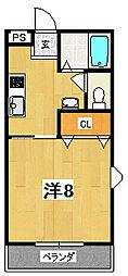 ジーラソーレ1975[101号室]の間取り