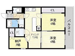 西田辺駅 8.5万円