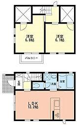 [テラスハウス] 神奈川県足柄上郡開成町みなみ4丁目 の賃貸【/】の間取り