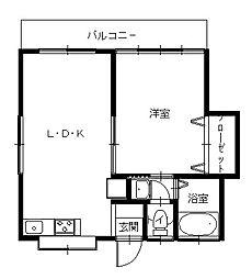 道ノ尾駅 4.3万円
