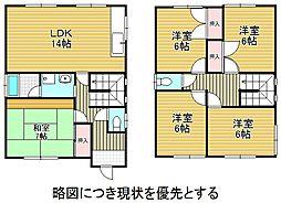 [一戸建] 愛知県名古屋市名東区勢子坊4丁目 の賃貸【/】の間取り