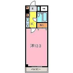 エスポアール高松B[403号室]の間取り