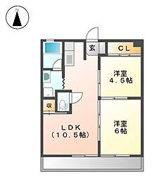 今枝ビル[3階]の間取り
