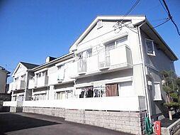 京都府京都市北区西賀茂水垣町の賃貸アパートの外観