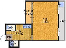 シャルマン大和田PART2[3階]の間取り