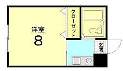 Casa Coraggio[204号室]の間取り