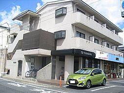 岡山県岡山市北区奥田2丁目の賃貸マンションの外観