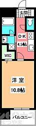 Kasa Amu[402号室]の間取り