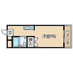 松が丘エンビィマンション[311号室]の間取り