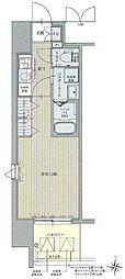 名古屋市営名城線 黒川駅 徒歩3分の賃貸マンション 10階1Kの間取り