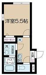 フェリーチェ中野新橋II ナカノシンバシツー[3階]の間取り