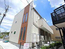 千葉県千葉市稲毛区黒砂3丁目の賃貸アパートの外観