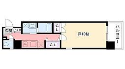 BELAIR江上[2階]の間取り