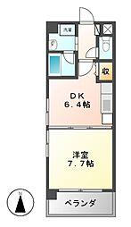 新栄アーバンハイツ[7階]の間取り