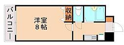 セルシオマンション[5階]の間取り