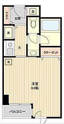 コンフォート荻窪[2階]の間取り