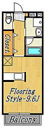 さらさ2[2階]の間取り