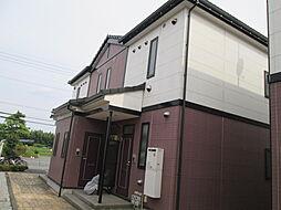 栃木県宇都宮市西川田本町4丁目の賃貸アパートの外観
