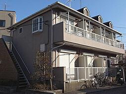 東京都日野市三沢3丁目の賃貸アパートの外観