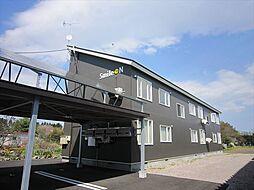 北海道河東郡士幌町字士幌幹西2線の賃貸アパートの外観