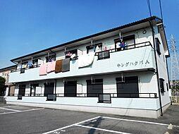 キングハクバA棟 1階[102号室]の外観