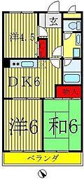 第5泉マンション[305号室]の間取り