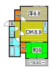 メゾン・ド・アストラ[5階]の間取り