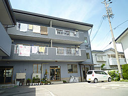 長野県諏訪市大字中洲中金子の賃貸アパートの外観