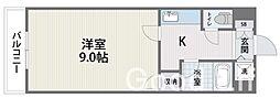 クロスステージ笹丘[2階]の間取り