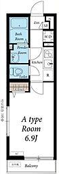 リブリ・Kawagoe[3階]の間取り