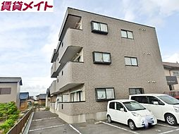 三重県四日市市日永2の賃貸マンションの外観