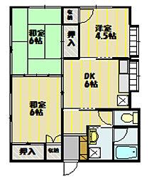[一戸建] 長野県飯田市大瀬木 の賃貸【/】の間取り