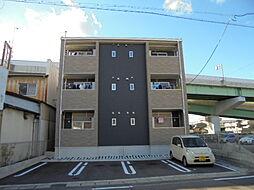 愛知県北名古屋市鹿田東海の賃貸アパートの外観