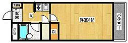 サンガーデン瑞穂[3階]の間取り