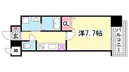 ピアグレース神戸[15階]の間取り