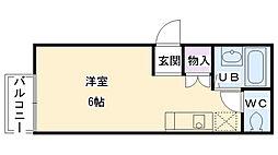 池田ハイツ[201号室]の間取り