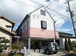 兵庫県姫路市飾磨区西浜町2の賃貸アパートの外観