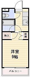 長野県長野市大字大豆島の賃貸マンションの間取り