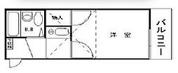 フォーシム蒲田I[102号室]の間取り