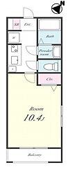 Maison Sunpia(メゾン サンピア)[305号室]の間取り