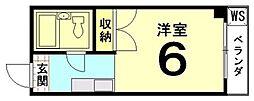 吉田マンション[305号室]の間取り