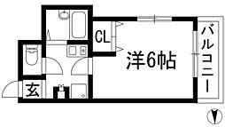 清風荘メゾンブライト[2階]の間取り