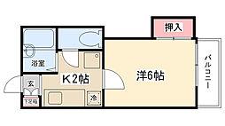 文京ビレッジ[102号室]の間取り